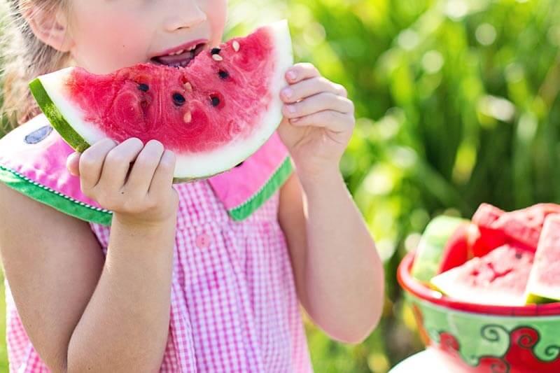 Alimentação saudável primeira infância